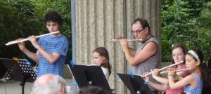 jouer de la flûte ...