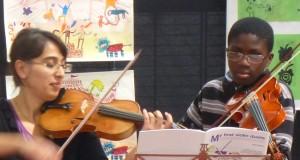 jouer du violon ...