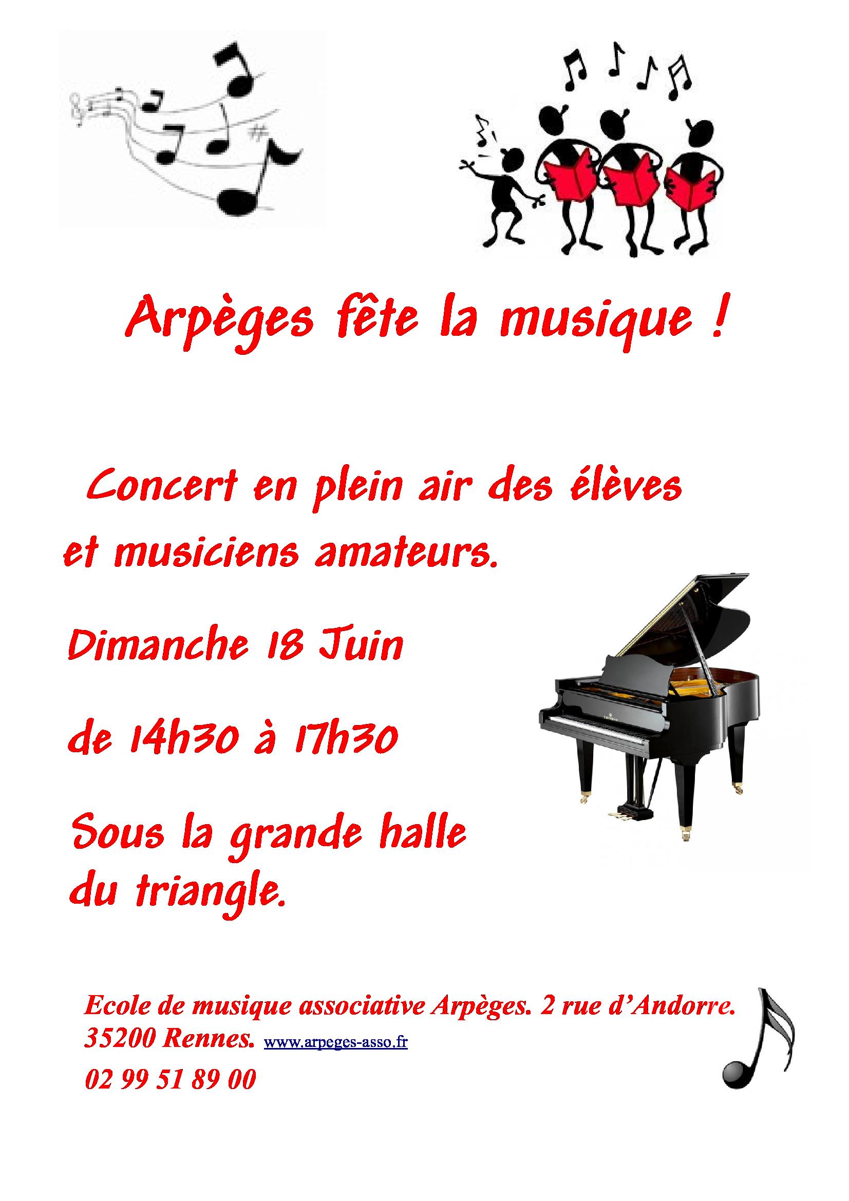 Arpèges fête la musique!